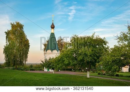Chapel On The Territory Of The Murom Spaso-preobrazhensky Monastery. City Murom, Russia