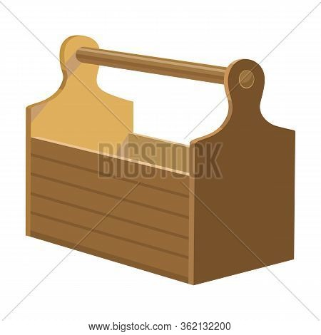 Toolbox Vector Icon.cartoon Vector Icon Isolated On White Background Toolbox.