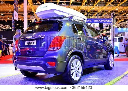 Pasay, Ph - Apr 1- Chevrolet Trax At Manila International Auto Show On April 1, 2017 In Pasay, Phili