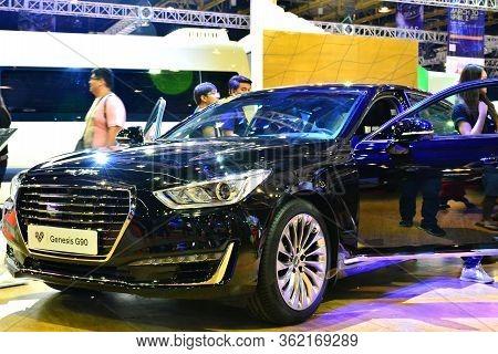 Pasay, Ph - Apr 1- Hyundai Genesis G90 At Manila International Auto Show On April 1, 2017 In Pasay,