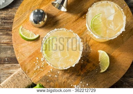 Refreshing Mexican Tequila Margarita