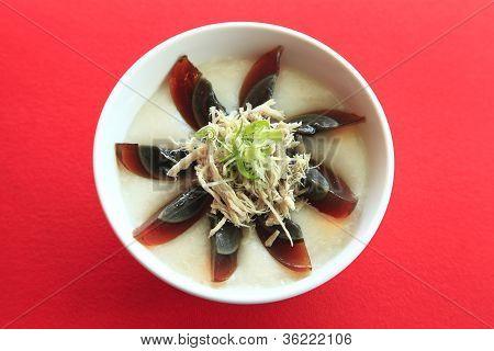 A Bowl Of Rice Porridge