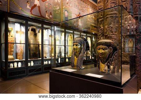 Vienna, Austria - May 20, 2017: Kunsthistorische Museum (fine Art History Museum) Of Vienna, Austria