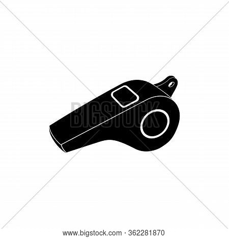 Whistle Icon. Vector Illustration Whistle For Sport.