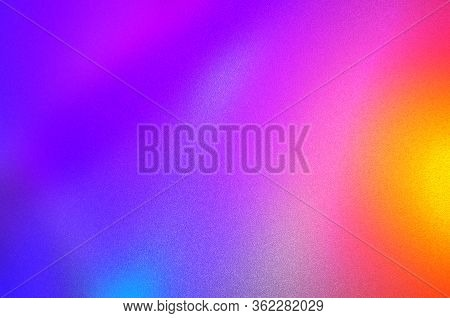 Photo Image Backdrop. Dark,ultra Violet,purple,pink,red,orange,colorful Blurred Abstract With Light