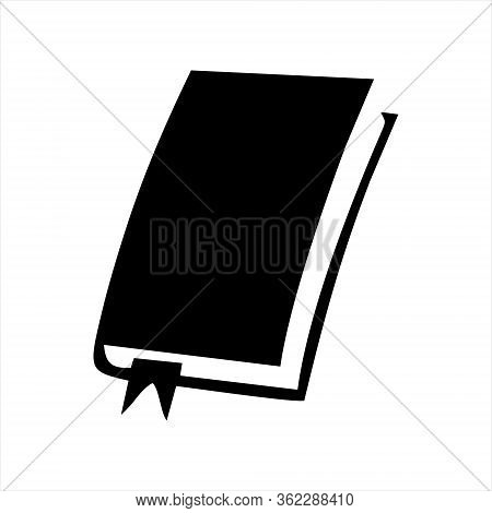 Book Icon Isolated On White Background. Book Icon In Trendy Design Style. Book Vector Icon Modern An