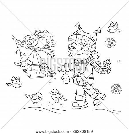 Coloring Page Outline Vector & Photo (Free Trial)  Bigstock