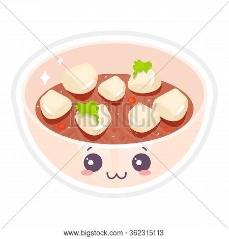 Chinese Cute Kawaii Vector Character