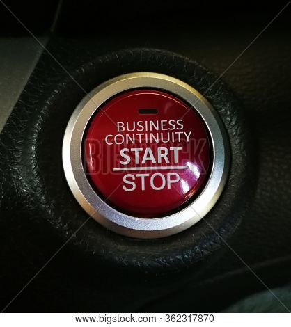 Business Recovery, start and stop button