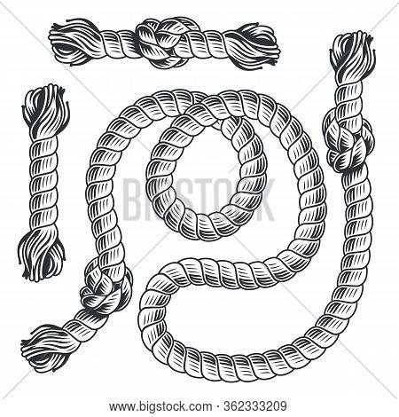Pattern Brush Nautical Rope Knot Marine Sailor