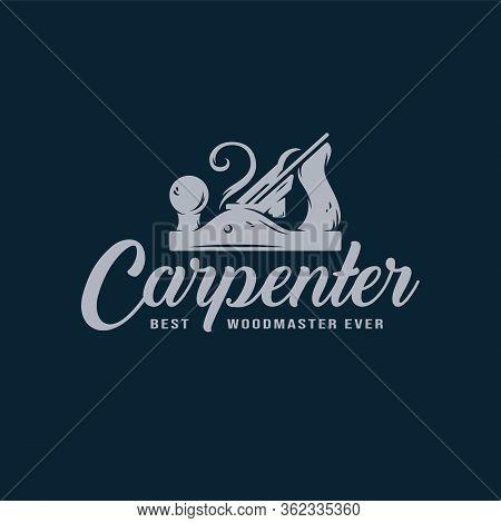 Carpentry Jointer Carpenter Tool Wood Work Logo