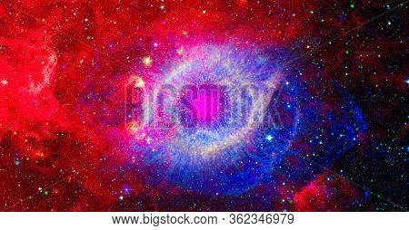 Supernova Explosion. Elements Of This Image Furnished By Nasa.