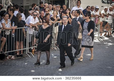 Mintoff Funeral