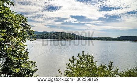 Beautiful Edersee In North Of Hessen In Germany
