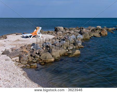 Chair On A Sea Beach