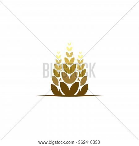 Agriculture Wheat Icon, Logo Ideas. Inspiration Logo Design. Template Vector Illustration. Isolated