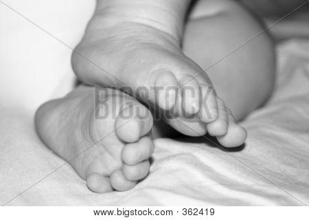 Little Baby Feet Bw