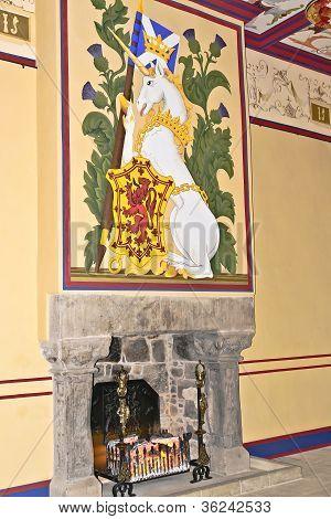 Fireplace of King's Bedchamber
