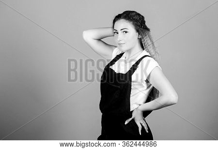 Fashion Portrait Of Woman. Makeup For Real Girl. Trendy Look Of Fashion Model. Stylish Hair. Woman I