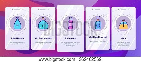 Fragrance Bottles . Fragrance Perfume Decorative Form Container And Spray, With Aromatic Sticks And