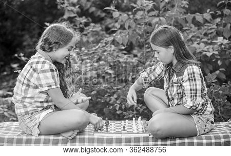 Thinking Process. Early Childhood Development. Worthy Opponents. Develop Hidden Abilities. Two Girls