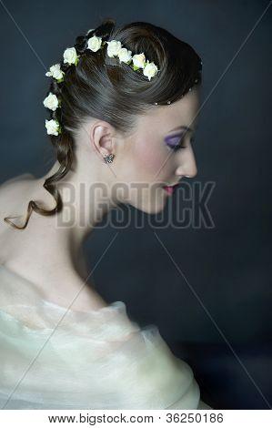 Growing White Flowers Haircut