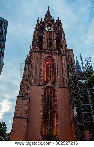 Emperors Cathedral Of St Bartholomew Frankfurt Cathedral, Kaiserdom Sankt Bartholomaus