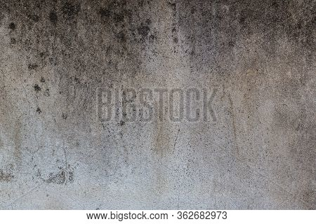 Texture Of Old Gray Concrete Wall For Background.cement Wall Texture For Interior Design. Gray Wall
