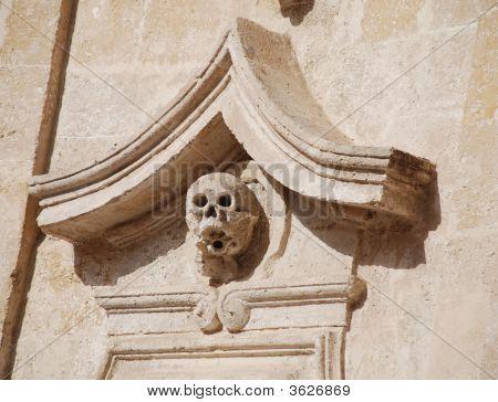 Detail On Chiesa Del Purgatorio, Matera