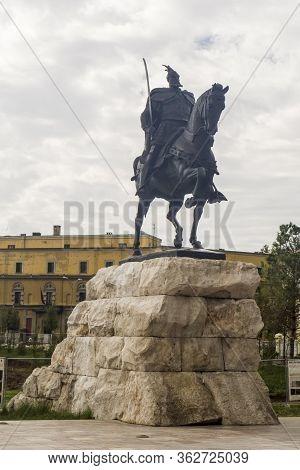 Albania, Tirana: 09/20/2010 - Tirana The Capitol Of Albania, Its Streets, Monuments, And Famous Plac