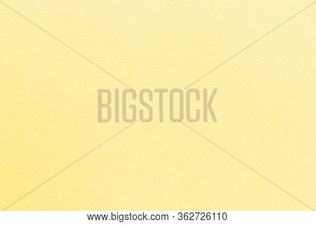 High Resolution Close Up Of Light Yellow Felt Fabric Texture Of Rough Fleecy Fabric Of Yellow Color