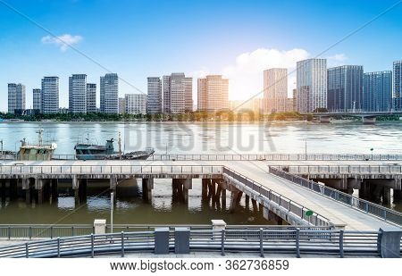 Tall Buildings And Skyline In Fuzhou, China