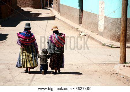 Frauen und Kinder, Bolivien