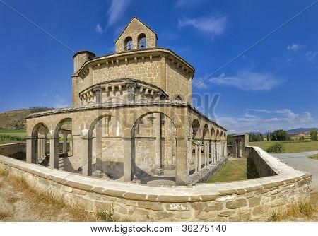 Monastery Of Santa Maria De Eunate