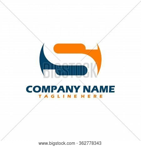 S Logo, S Logo Design, Initial S Logo, Circle S Logo, Real Estate Logo, Illustration Vector Design,
