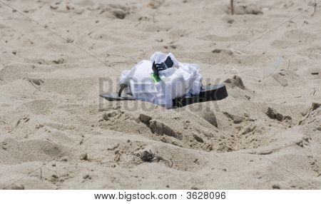 Sandles And Sand