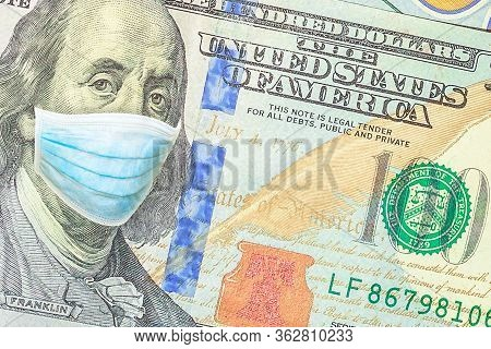 Business Concept Of Covid 19-ncp Virus Pandemic In United States. Covid-19 Coronavirus Outbreak And