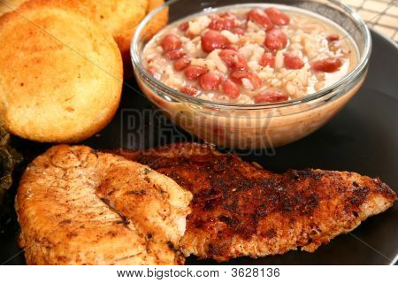 Cajun Catfish And Chicken