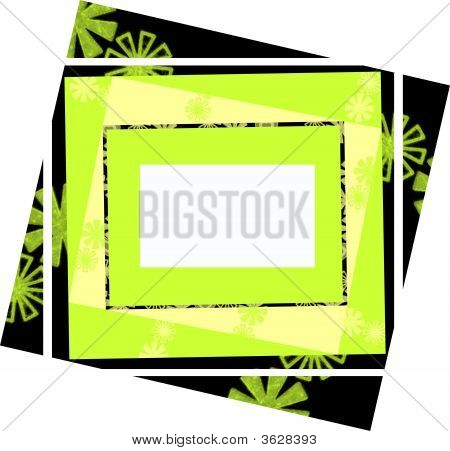 Yellow Green Frame