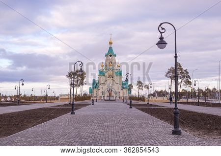 Kogalym, Russia, Church Of The Holy Martyr Tatiana