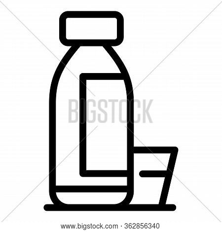 Fresh Juice Producer Icon. Outline Fresh Juice Producer Vector Icon For Web Design Isolated On White