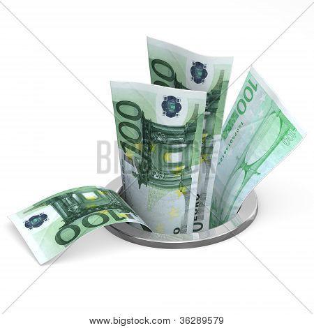 Euro To Drain
