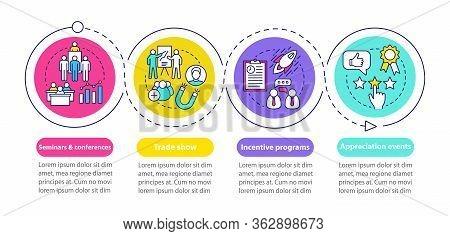 Corporate Event Management Infographic Template. Seminars Conferences, Incentive Programs, Appreciat