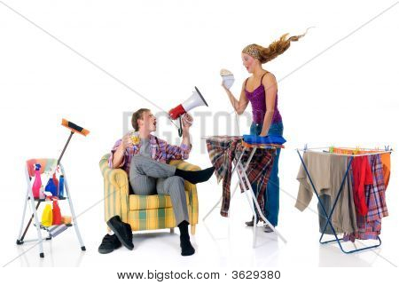 Household, Ironing