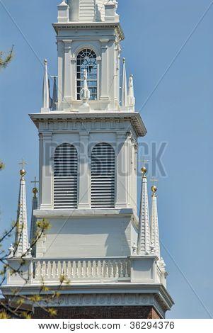 Old North Church In Boston Massachusetts