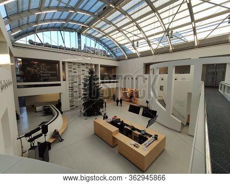 Nuremberg, Germany - January 01, 2020: Germanic National Museum (germanisches Nationalmusem) In Nure