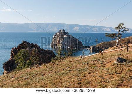 Tree Of Desires On Cape Burhan Of Olkhon Island On Lake Baikal, Russia