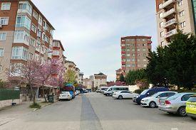 Istanbul - Apr 19, 2020: Lockdown Due To Coronavirus. Streets Deserted As Turkey Begins Weekend Lock