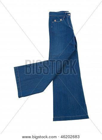 Elephant Bell Blue Jeans