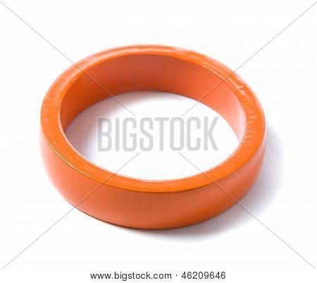 Orange Minimalist Bracelet